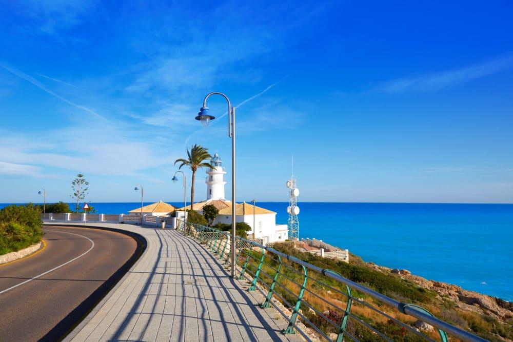 Cullera Spain - Vlk na cestách