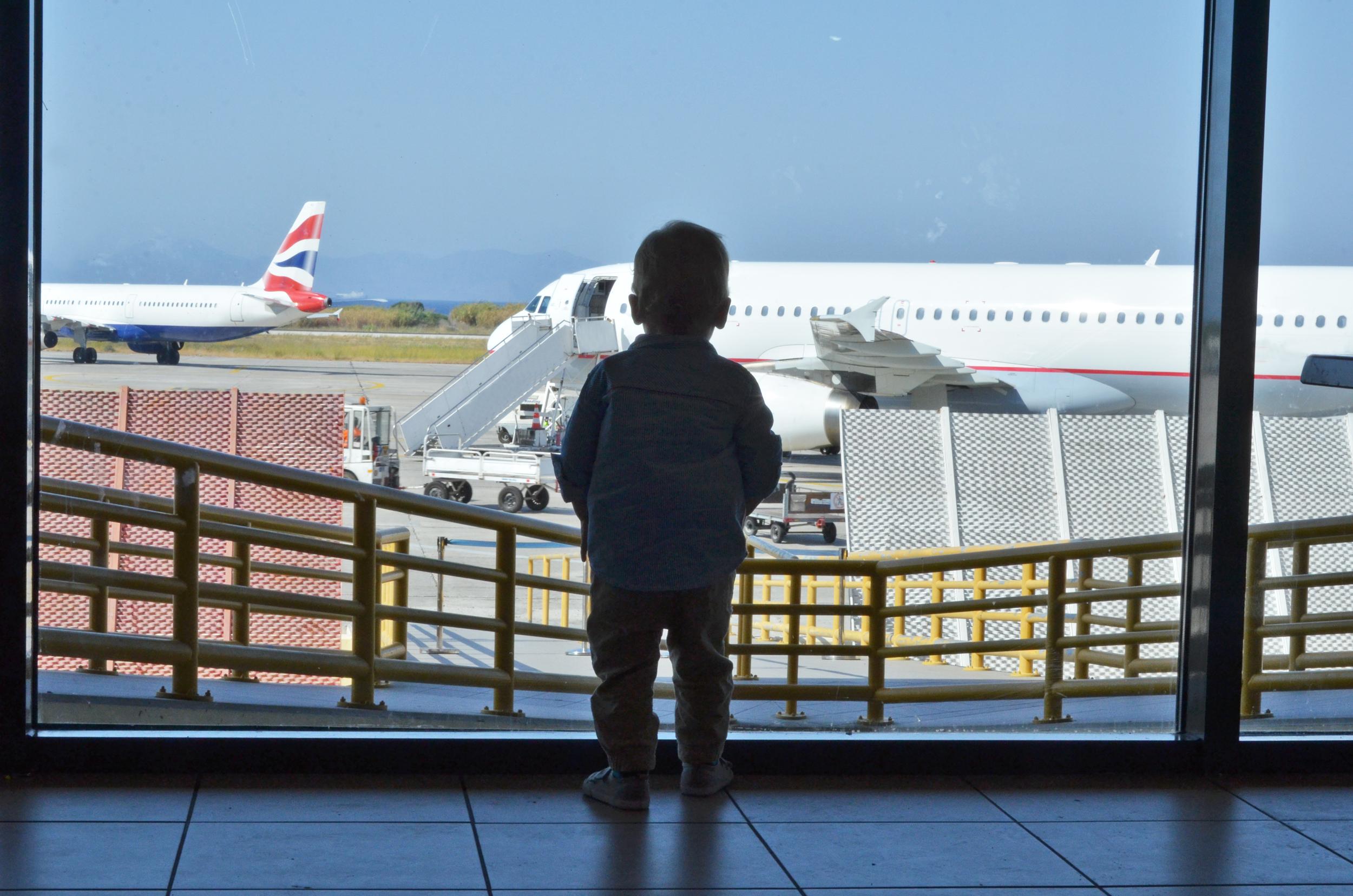 Letadlem s malým dítětem - Vlk na cestách