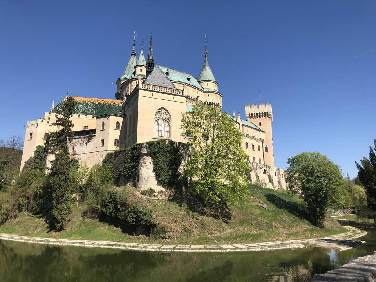 Zámek Bojnice - Vlk na cestách