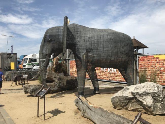 KOVOZOO - slon