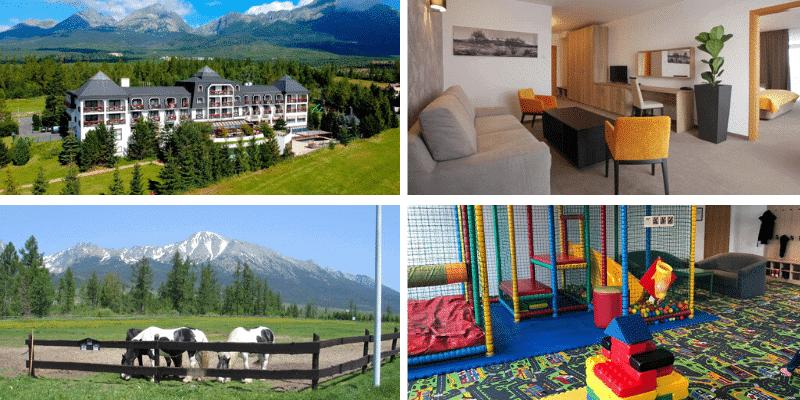 ubytování na slovensku děti
