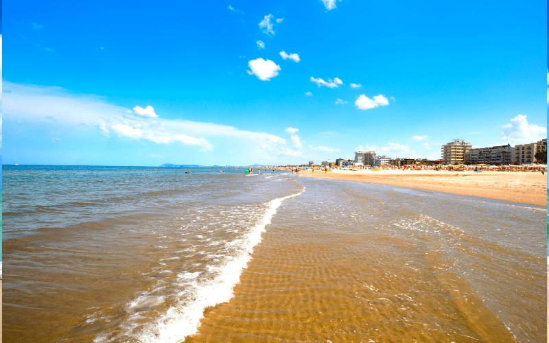 Rimini v červnu