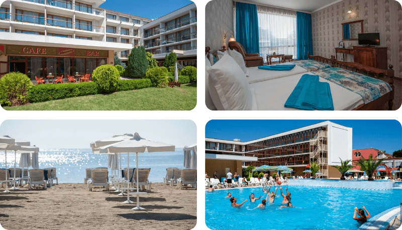 bulharsko v létě bez cestovky