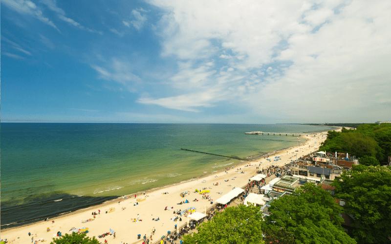 Nejkrásnější pláže v Polsku